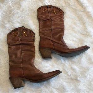 Steve Madden Shyann Cowgirl Boots | Sz 7M